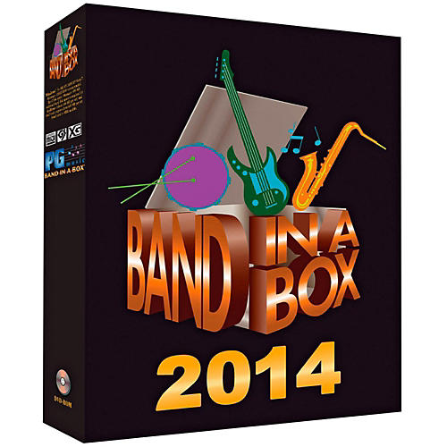 PG Music Band-in-a-Box Pro 2014 (Windows DVD-ROM) thumbnail