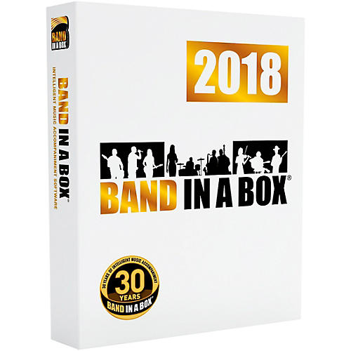 PG Music Band-in-a-Box Pro 2018 Software Download (Mac) thumbnail