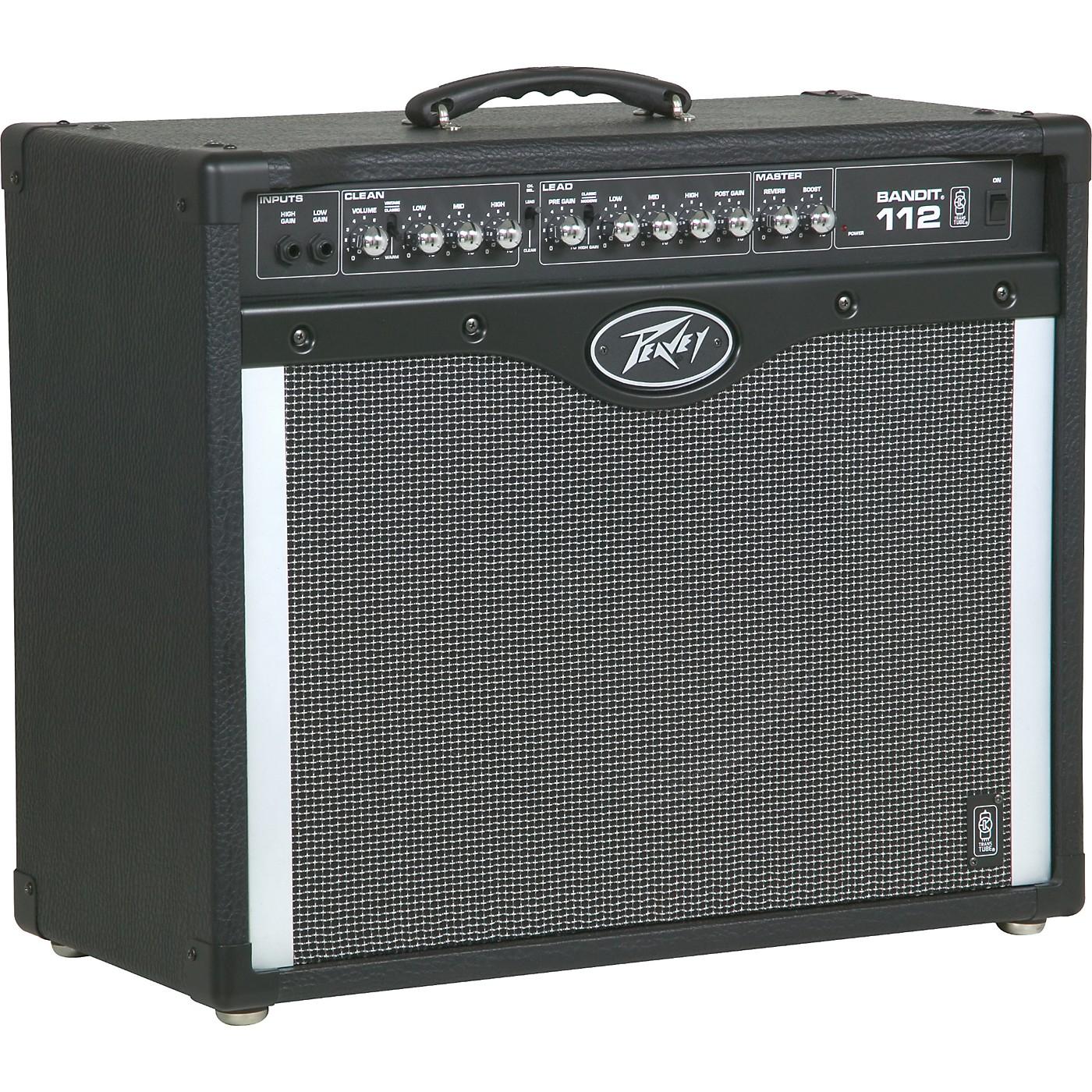 Peavey Bandit 112 Guitar Amplifier with TransTube Technology thumbnail