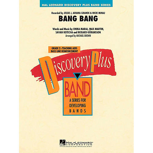 Hal Leonard Bang Bang - Discovery Plus Concert Band Level 2 thumbnail