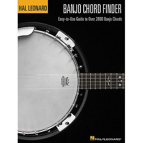 Hal Leonard Banjo Chord Finder Book-thumbnail