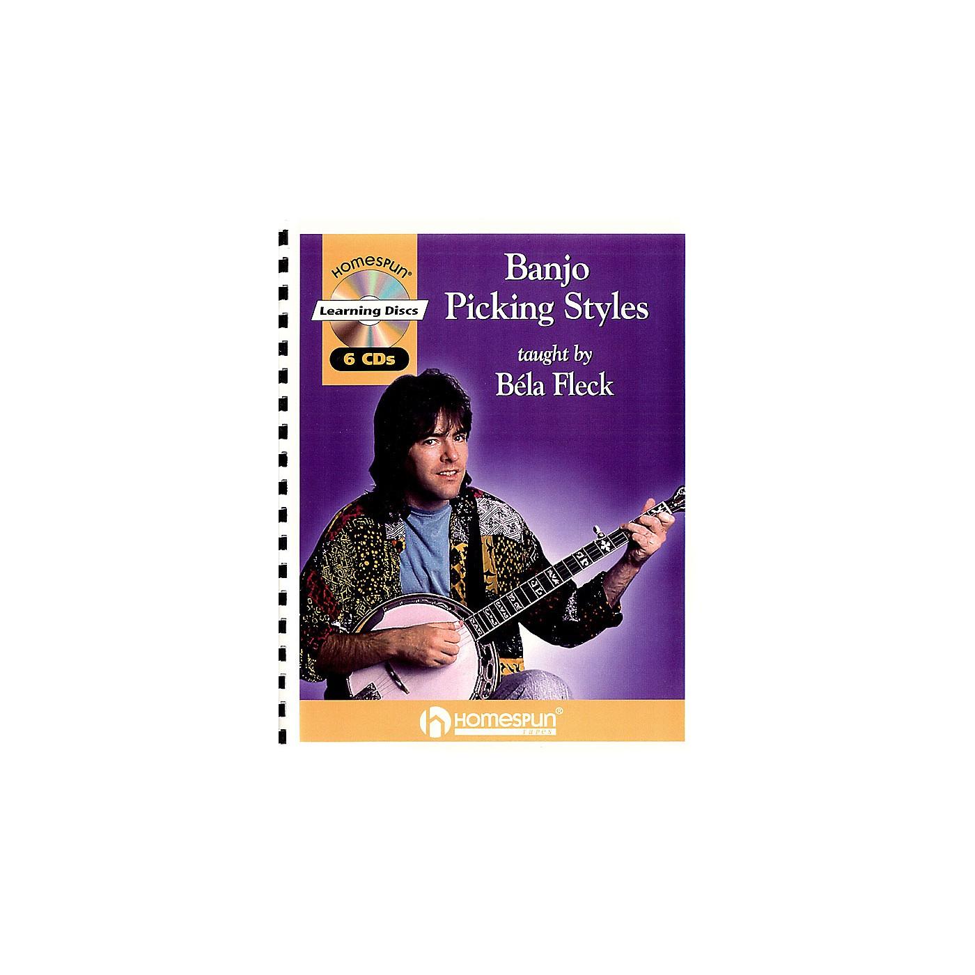 Homespun Banjo Picking Styles Banjo Series Performed by Béla Fleck thumbnail