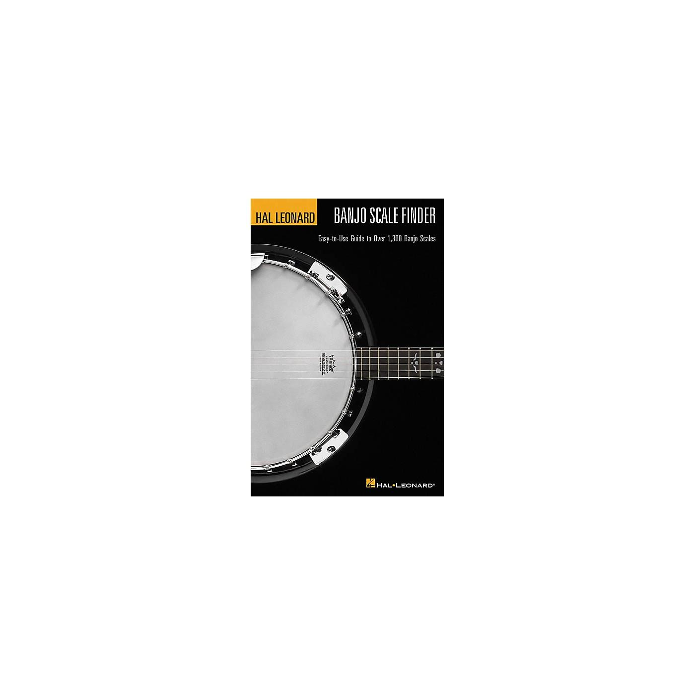 Hal Leonard Banjo Scale Finder 1300 Banjo Scales 6x9 Book thumbnail