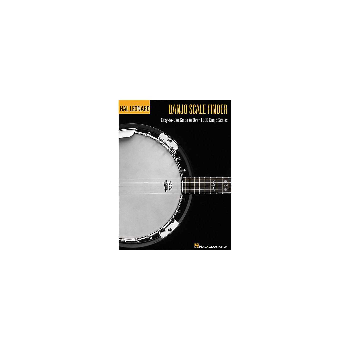 Hal Leonard Banjo Scale Finder Book thumbnail