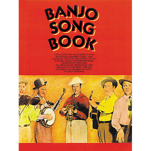 Music Sales Banjo Song Book Music Sales America Series Softcover thumbnail