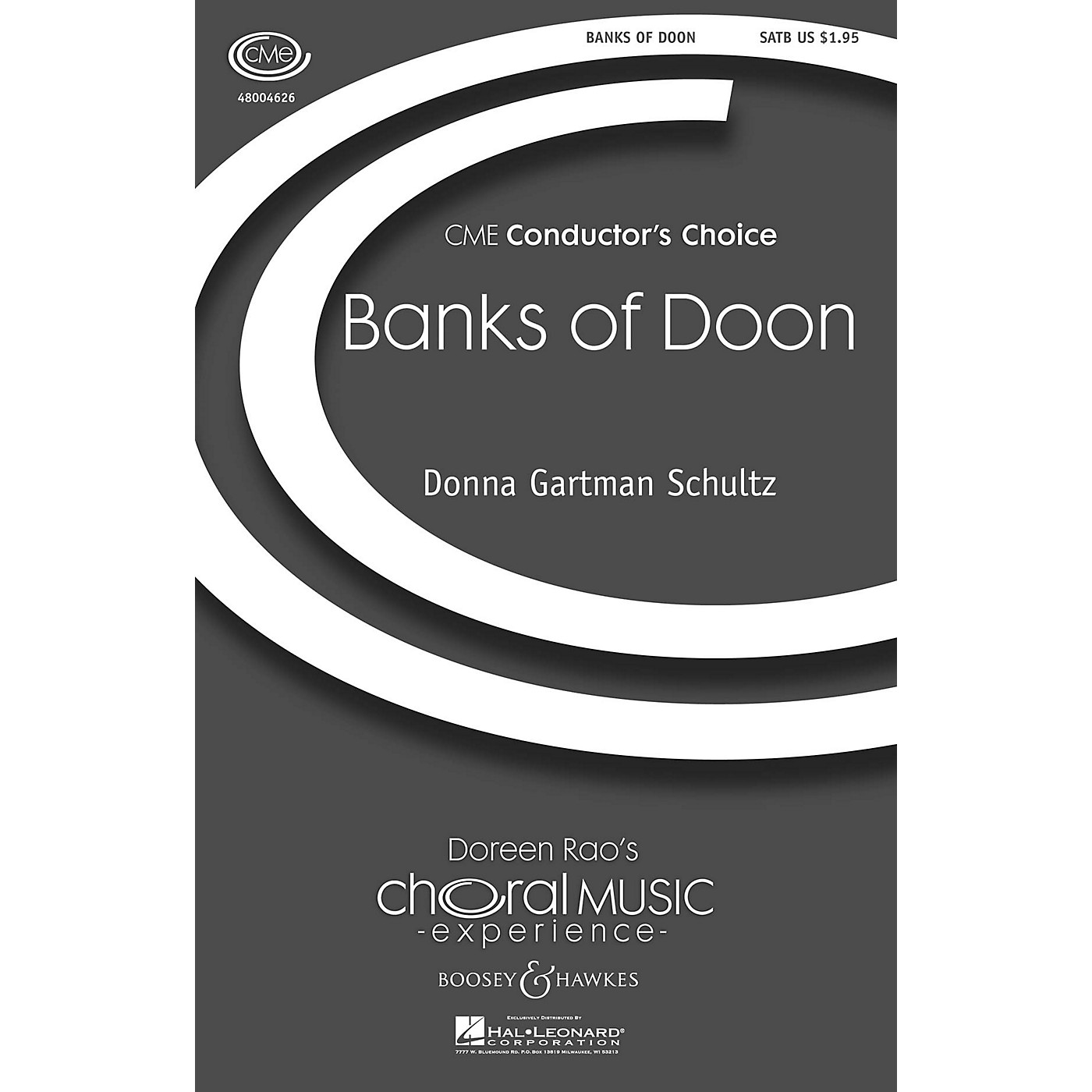 Boosey and Hawkes Banks of Doon (CME Conductor's Choice) SATB composed by Donna Gartman Schultz thumbnail