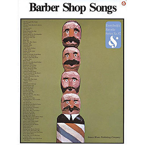 Music Sales Barbershop Songs Music Sales America Series Softcover  by Various thumbnail