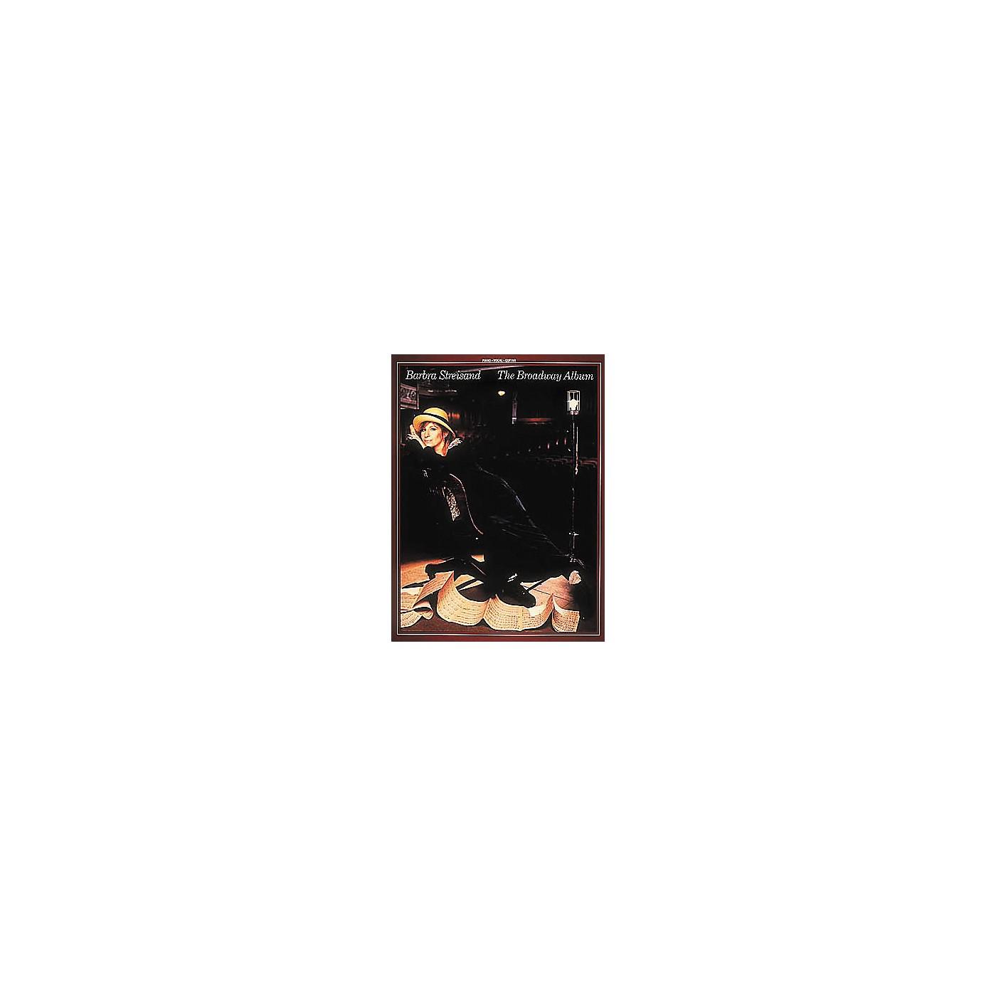 Hal Leonard Barbra Streisand - The Broadway Album Piano, Vocal, Guitar Songbook thumbnail
