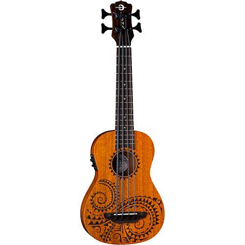 Luna Guitars Bari-Bass Tattoo Acoustic-Electric Ukulele thumbnail