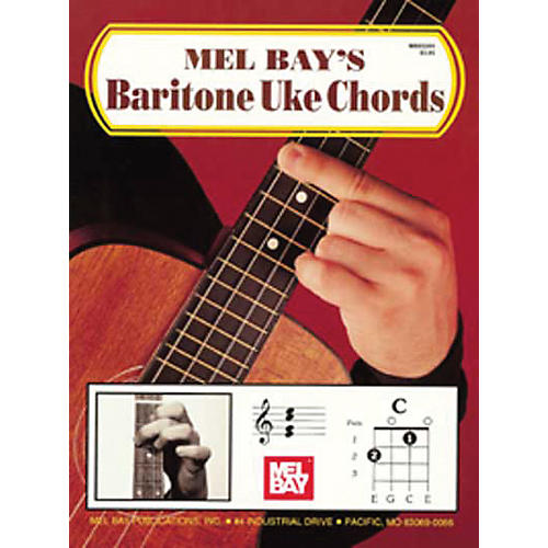 Mel Bay Bari Uke Chords Book thumbnail