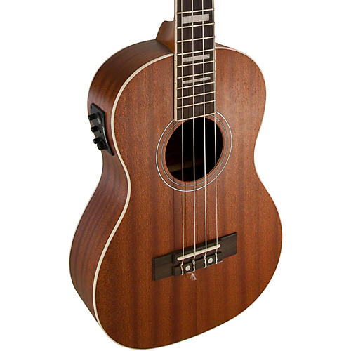 Lanikai Baritone All-Mahogany Acoustic-Electric Ukulele with USB thumbnail
