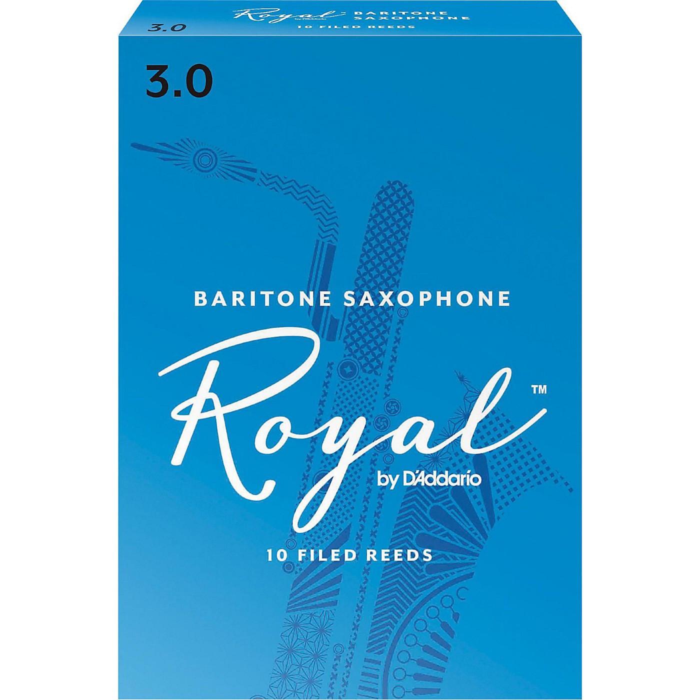 Rico Royal Baritone Saxophone Reeds, Box of 10 thumbnail