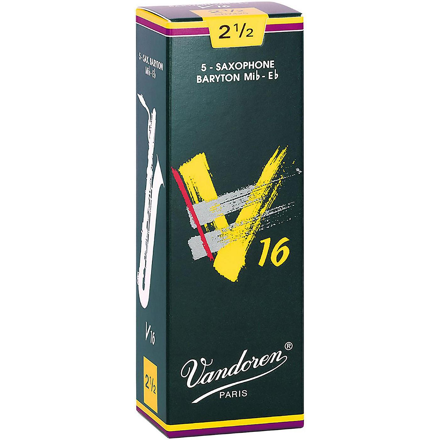Vandoren Baritone Saxophone V16 Reeds Box of 5 thumbnail