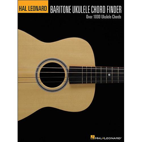 Hal Leonard Baritone Ukulele Chord Finder (9X12 Size) thumbnail