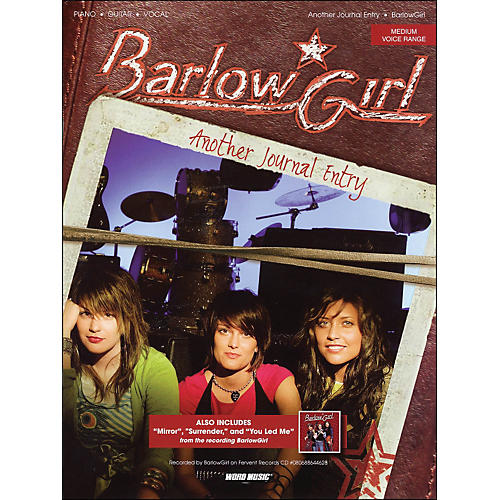 Word Music Barlow Girl - Another Journal Entry arranged for piano, vocal, and guitar (P/V/G)-thumbnail