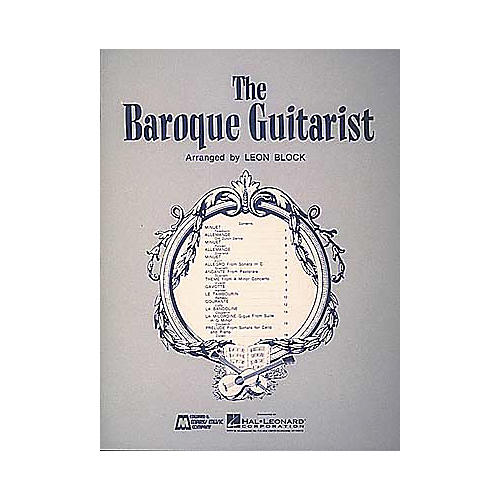 Edward B. Marks Music Company Baroque Guitarist Book thumbnail