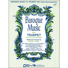 Hal Leonard Baroque Music for Trumpet with Piano