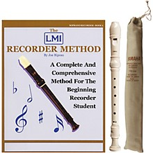 Yamaha Baroque Soprano Recorder with Book