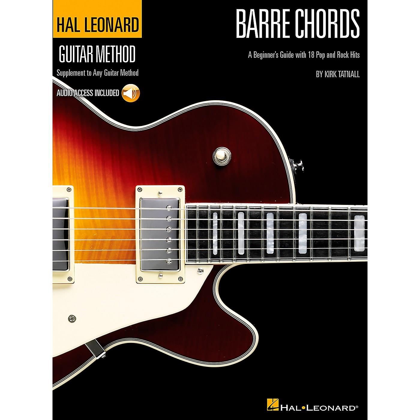 Hal Leonard Barre Chords - Guitar Method Supplement (Book/CD) thumbnail