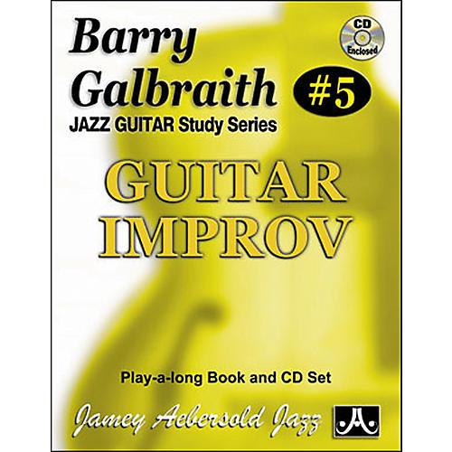 Jamey Aebersold Barry Galbraith - Guitar Improv Book and CD thumbnail