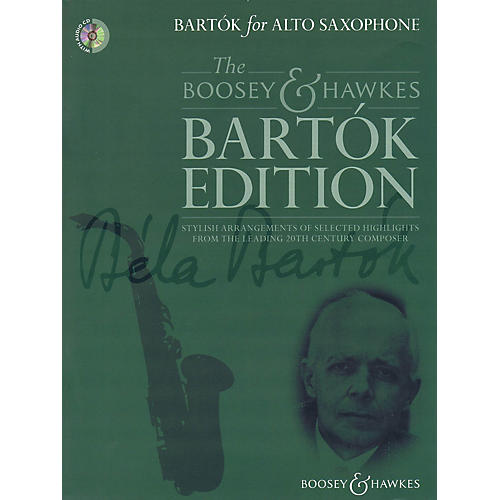 Boosey and Hawkes Bartók for Alto Saxophone Boosey & Hawkes Chamber Music Series Book with CD thumbnail