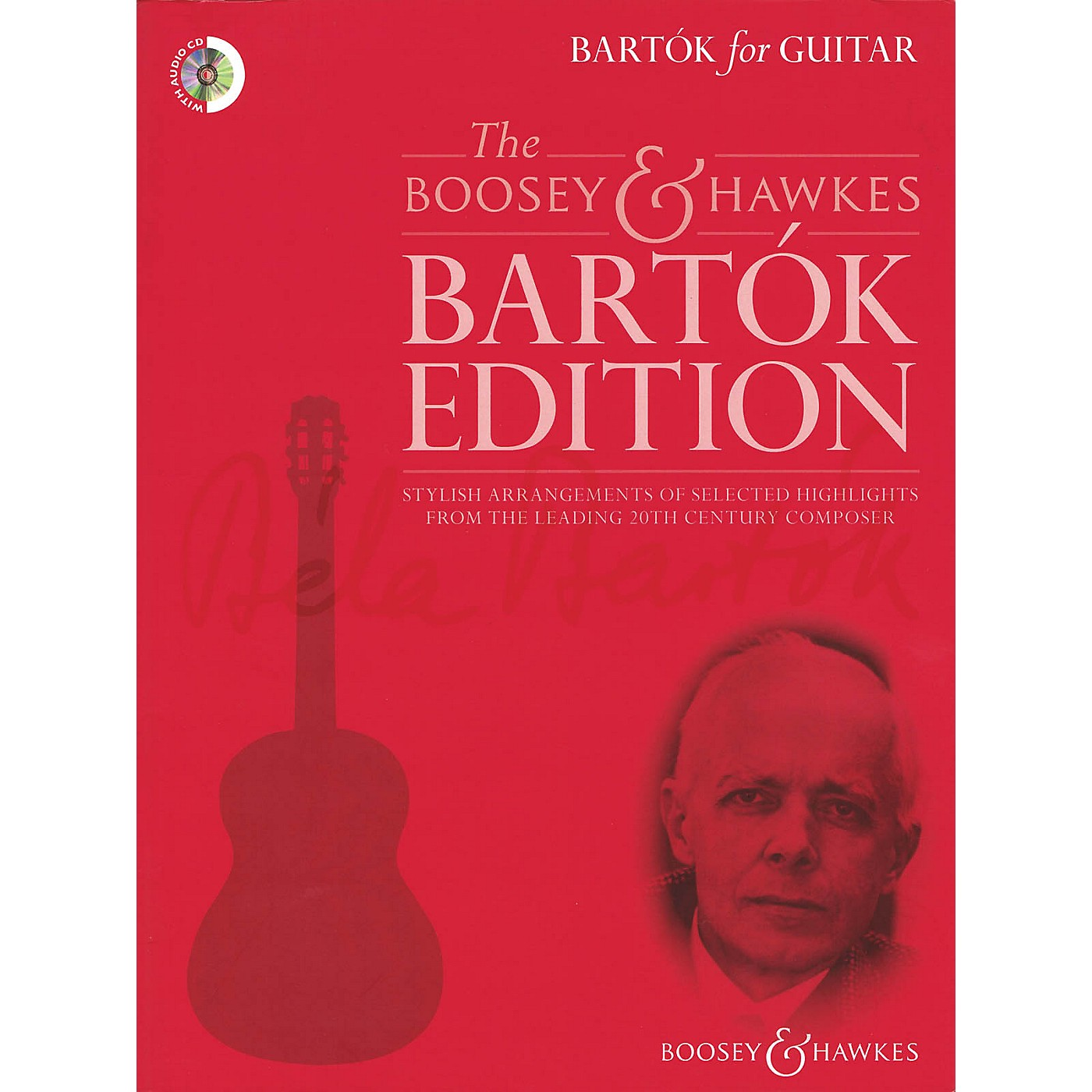 Boosey and Hawkes Bartok For Guitar Book and CD thumbnail