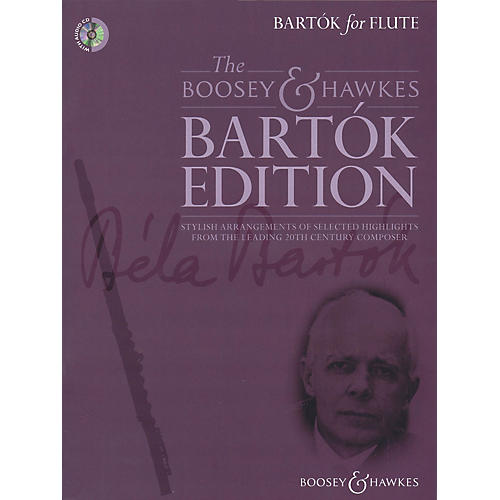 Boosey and Hawkes Bartok for Flute Boosey & Hawkes Chamber Music Series Softcover with CD thumbnail