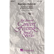 Hal Leonard Bashana Haba'ah SAB Arranged by John Leavitt