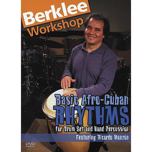 Berklee Press Basic Afro Cuban Rhythms (DVD) thumbnail