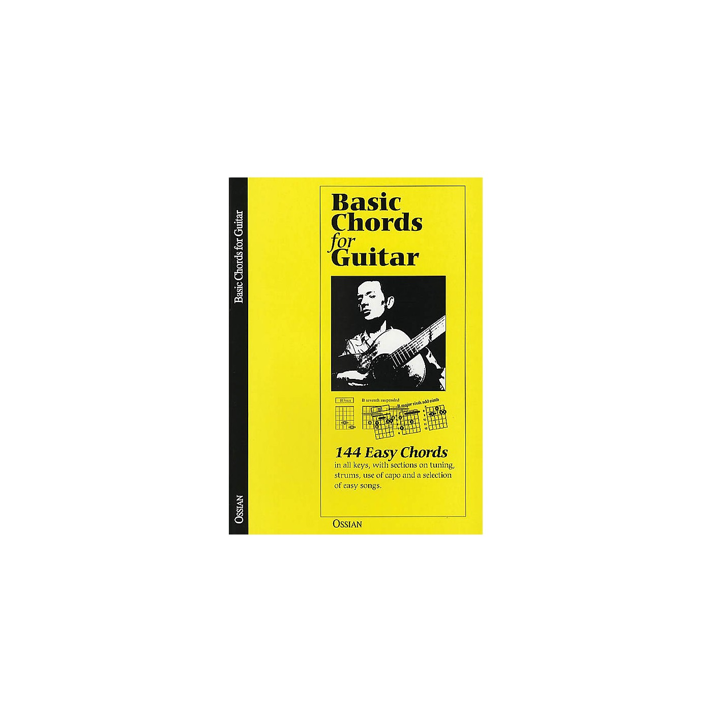 Music Sales Basic Chords for Guitar (144 Easy Chords) Music Sales America Series Softcover Written by John Loesberg thumbnail