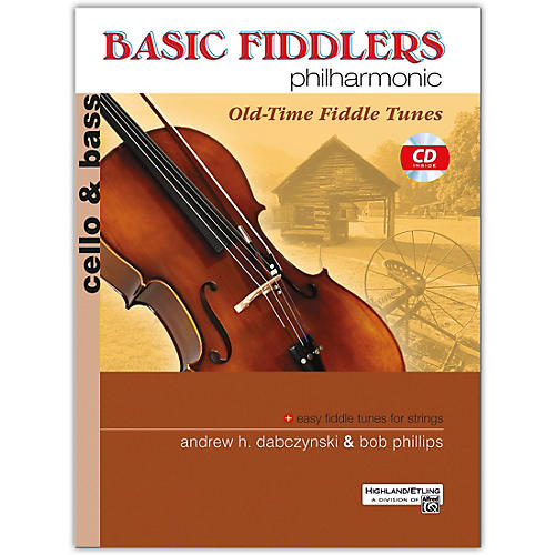 Alfred Basic Fiddlers Philharmonic: Old Time Fiddle Tunes Cello and Bass thumbnail