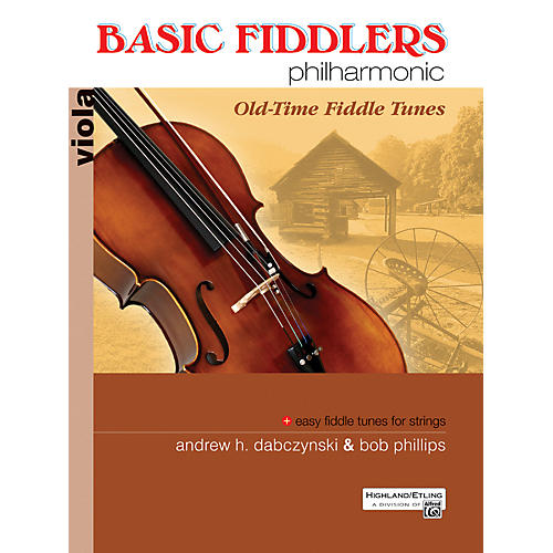 Alfred Basic Fiddlers Philharmonic Old-Time Fiddle Tunes Viola Book thumbnail