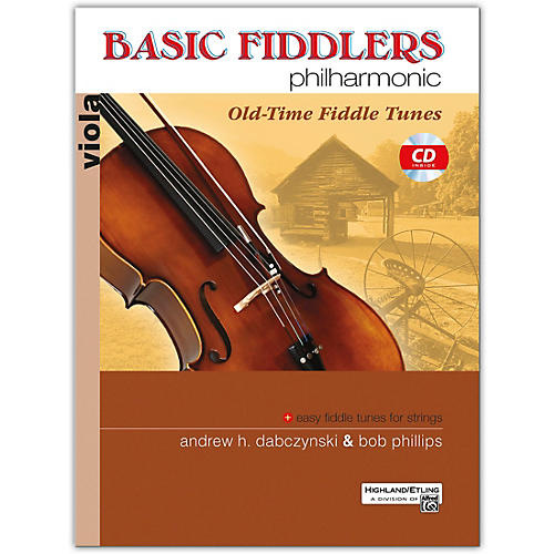 Alfred Basic Fiddlers Philharmonic: Old Time Fiddle Tunes Viola thumbnail