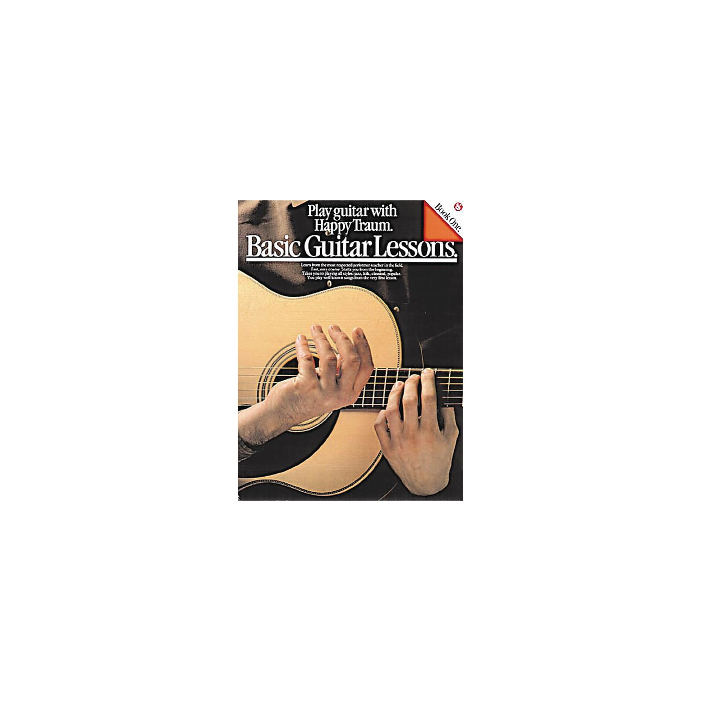 Music Sales Basic Guitar Lessons (Play Guitar with Happy Traum) Music Sales America Series Softcover by Happy Traum thumbnail
