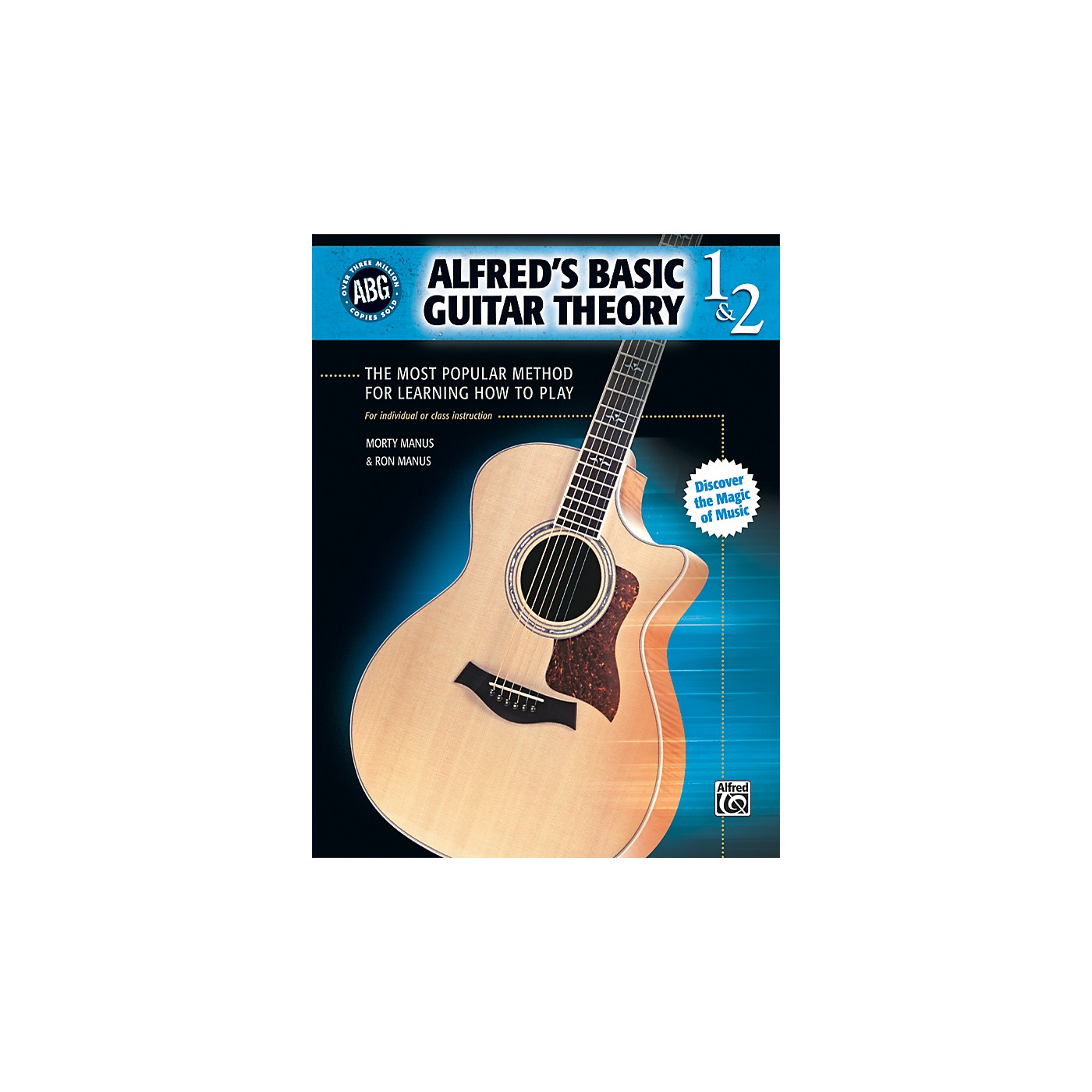 Alfred Basic Guitar Theory Volumes 1 and 2 (Book) thumbnail