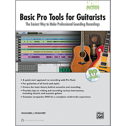 Alfred Basic Pro Tools for Guitarists Book & DVD thumbnail