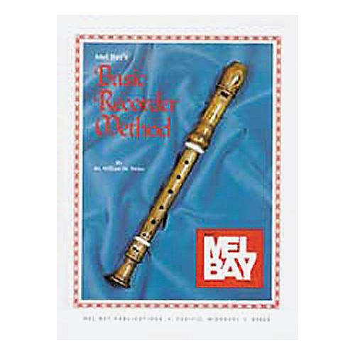 Mel Bay Basic Recorder Method Book thumbnail