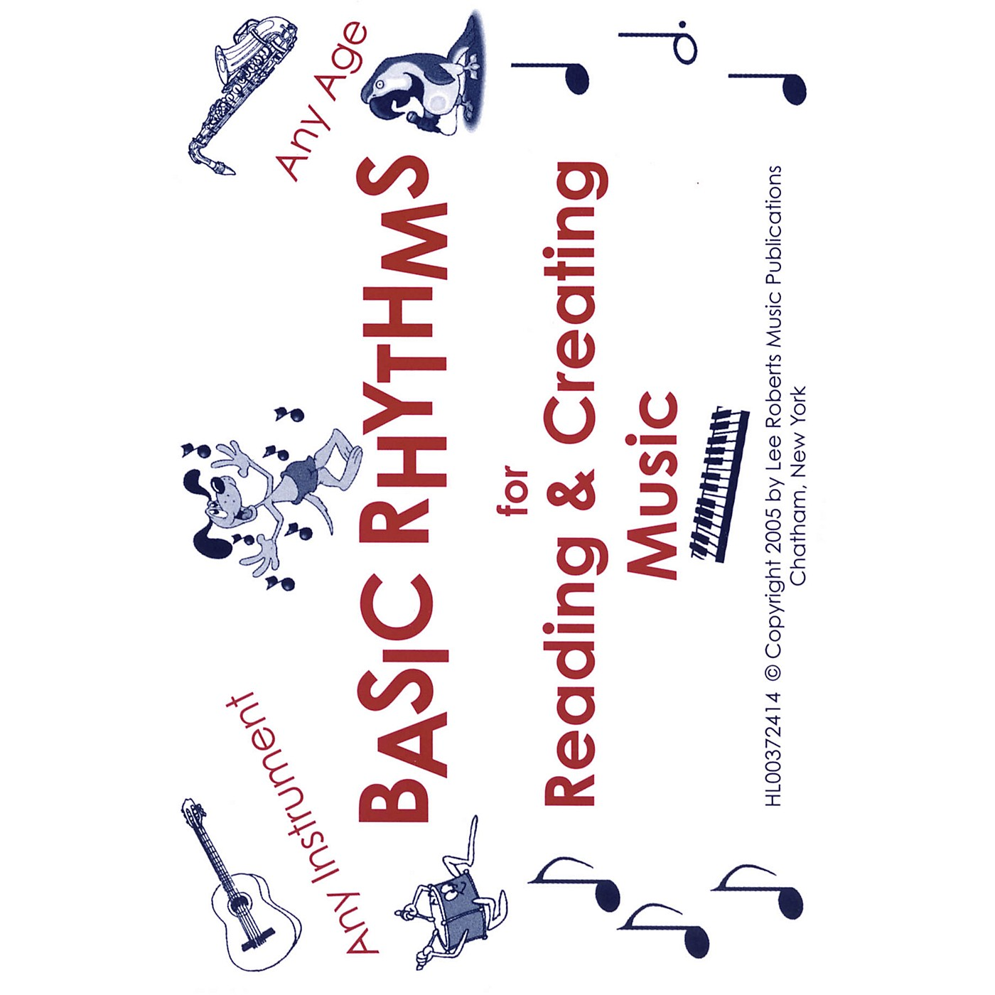 Lee Roberts Basic Rhythms Flashcards (For Reading & Creating Music) Pace Piano Education Series by Various Authors thumbnail