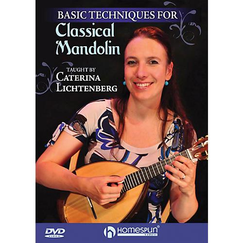 Hal Leonard Basic Techniques Of Classical Mandolin DVD-thumbnail