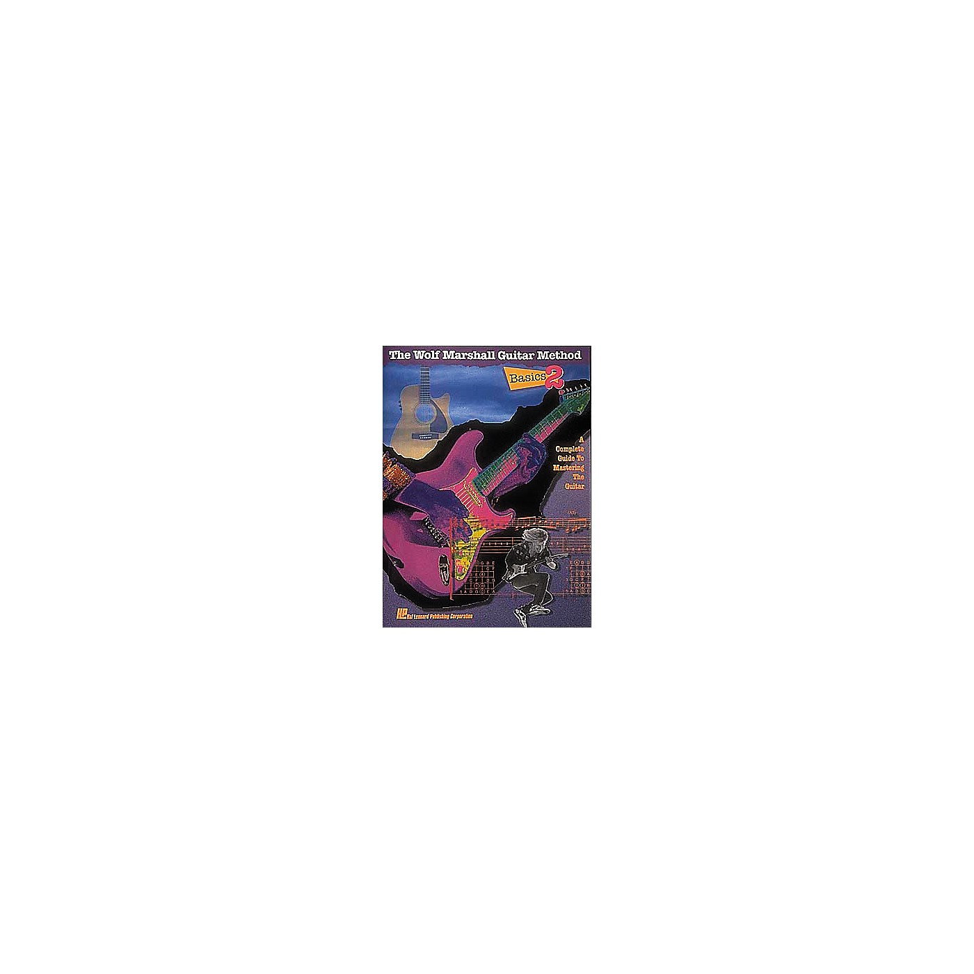 Hal Leonard Basics 2 - The Wolf Marshall Guitar Method Book thumbnail