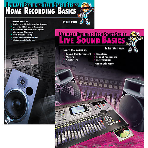 Alfred Basics of Live Sound & Home Recording thumbnail