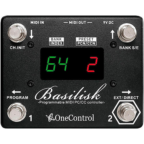 One Control Basilisk Programmable MIDI Controller thumbnail