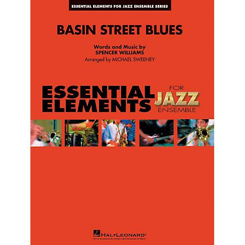 Hal Leonard Basin Street Blues Jazz Band Level 1-2 Arranged by Michael Sweeney thumbnail