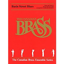 Hal Leonard Basin Street Blues (Score and Parts) Brass Ensemble Series by Spencer Williams