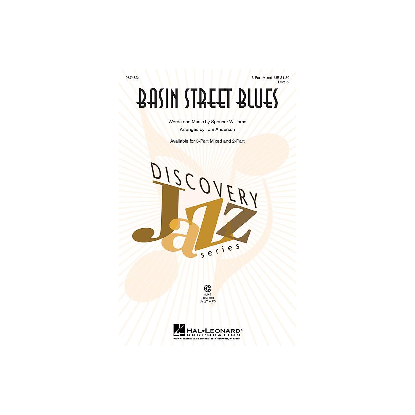Hal Leonard Basin Street Blues VoiceTrax CD Arranged by Tom Anderson thumbnail