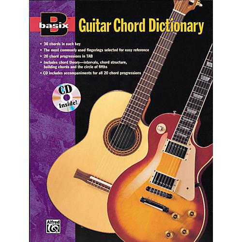 Alfred Basix Guitar Chord Dictionary Book & CD thumbnail