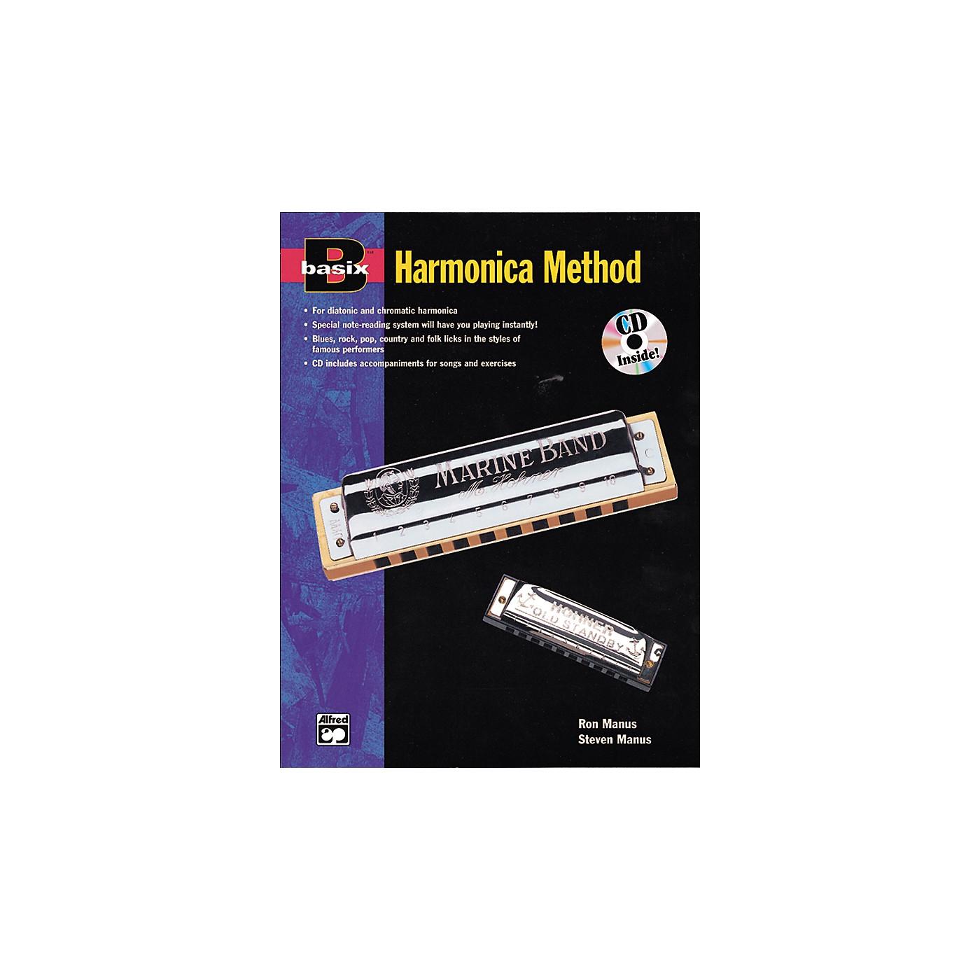 Alfred Basix Harmonica Method Book w/CD thumbnail