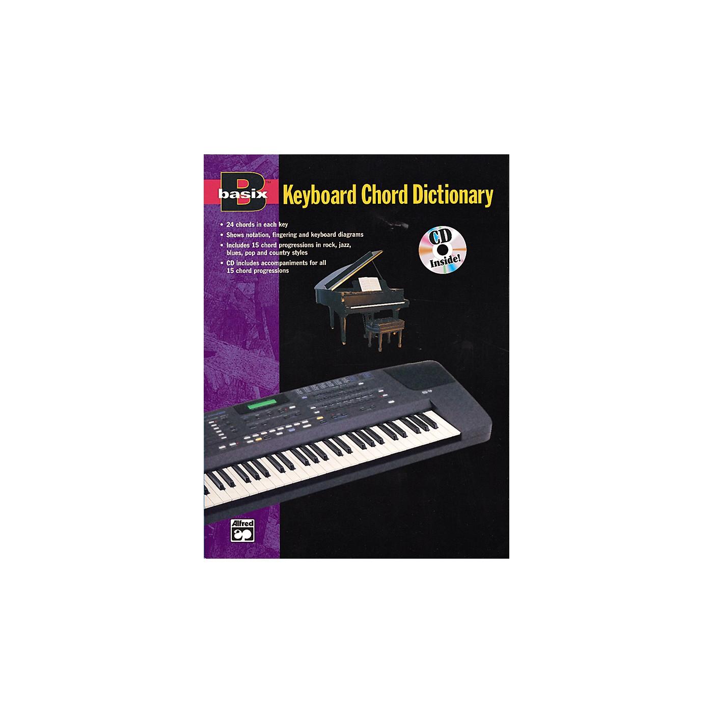 Alfred Basix Keyboard Chord Dictionary thumbnail