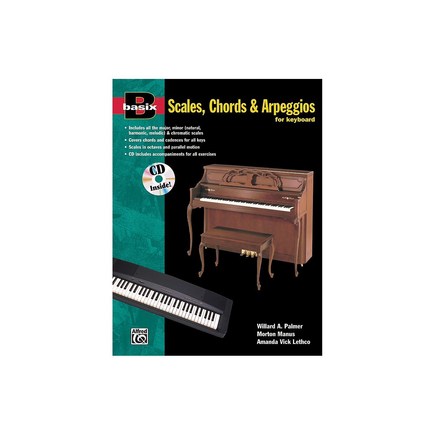 Alfred Basix Scales Chords & Arpeggios for Keyboard (Book/CD) thumbnail