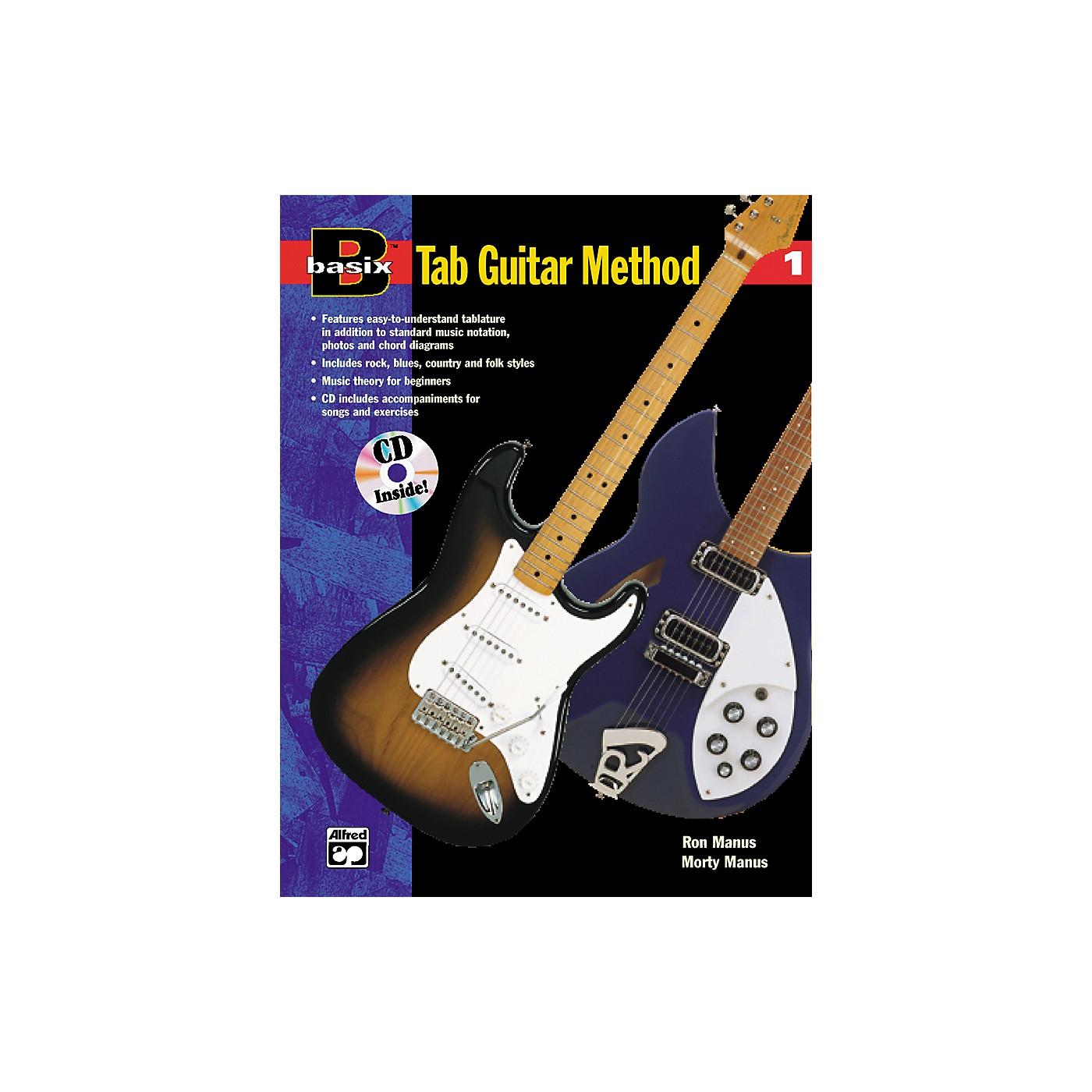 Alfred Basix TAB Guitar Method #1 CD thumbnail